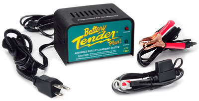 Large photo of 12 volt Battery Tender Plus with 10 Year Warranty!, Pegasus Part No. 7200