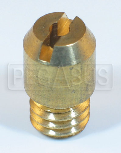 Large photo of Weber Accelerator Pump Discharge Valve, DCOE, IDF, IDA, Pegasus Part No. 79701-Size
