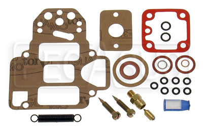 Large photo of 40/45 DCOE New Style Rebuild Kit w/o Float 175 Needle, Pegasus Part No. 93.0015.05