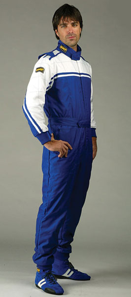 Large photo of OMP Pilota Karting Suit, Pegasus Part No. 9301-Size-Color