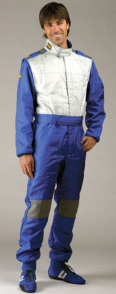 Large photo of OMP Tecnica Karting Suit, Pegasus Part No. 9303-Size-Color