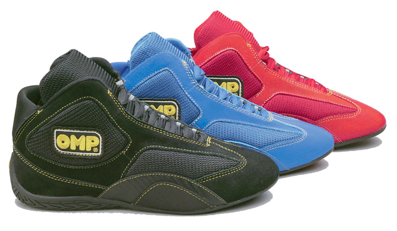 "Large photo of OMP ""Competition"" Karting Shoe, Pegasus Part No. 9311-Size-Color"