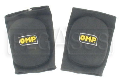 Large photo of OMP Karting Knee Pads, Pegasus Part No. 9318-Color