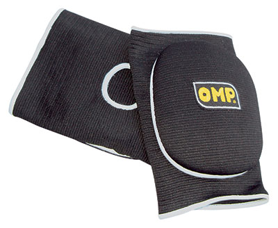 Large photo of OMP Karting Elbow Pads, One Size, Pegasus Part No. 9319-Color