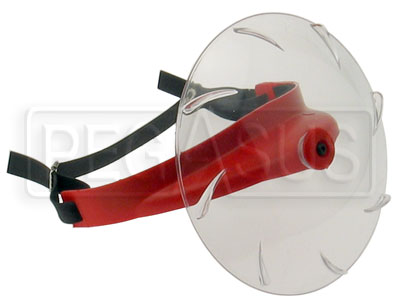 Large photo of Turbo Rotating Rain Visor, Pegasus Part No. 9335-Tint