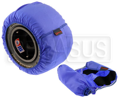 Large photo of Outerwears Kart Tire Covers, Pair, Pegasus Part No. 9340-Size-Color