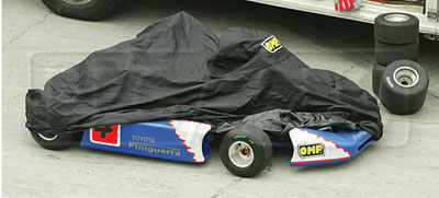Large photo of OMP Kart Rain Cover, Nylon, Pegasus Part No. 9343-Color