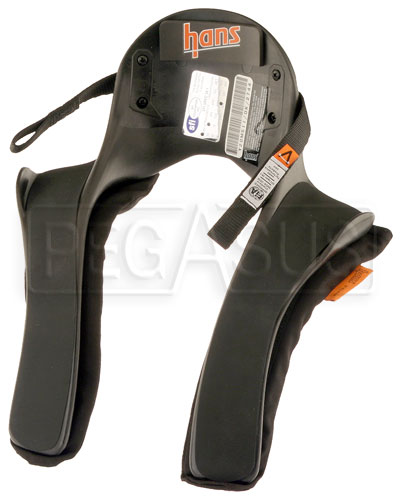 Large photo of Model 20 HANS Device, Sport II Series, Sliding Tethers, QC, Pegasus Part No. 9555-020-Size