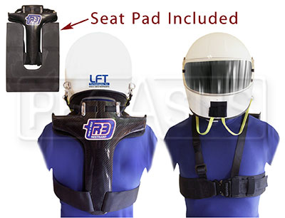 Large photo of R3 Head and Neck Restraint for Sedans, New Style, Pegasus Part No. 9573-Size