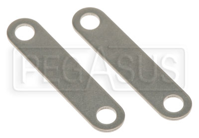 Large photo of HANS Tether Clamps for Fixed Tethers, pair, Pegasus Part No. 9589-024