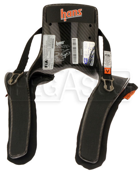 Large photo of Model 20 HANS Device, Pro Series, Sliding Tethers, Post, Pegasus Part No. 9591-020-Size