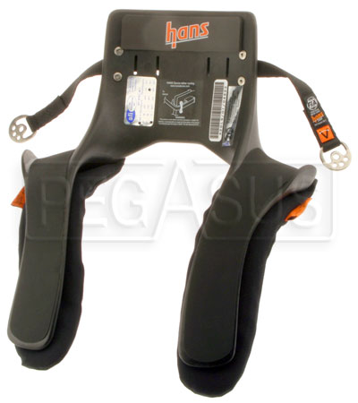 Large photo of Model 20 HANS Device, Sport Series, Sliding Tethers, LW2, Pegasus Part No. 9593-020-Size