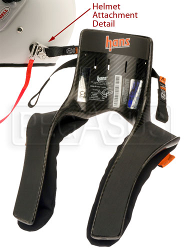 Large photo of Model 30 HANS Device, Pro Series, Sliding Tethers, QC, Pegasus Part No. 9596-030-Size
