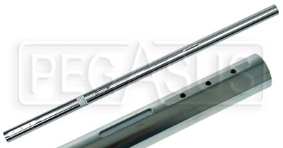 Large photo of Margay Rear Axle, 40 D x 1040 L x 3mm Wall, Pegasus Part No. 9625-200-Hardness