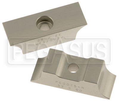Large photo of Ilmor 32mm Motor Mount Clamps, 90mm Rail Spacing, Pegasus Part No. 9652-132