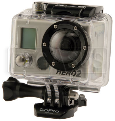 Large photo of GoPro HD Motorsports Hero2  Video Camera Kit, Pegasus Part No. 9740-006