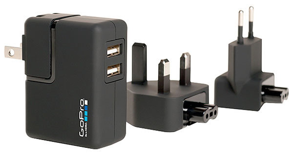 Large photo of GoPro Hero Cam Wall Charger, Pegasus Part No. 9740-112