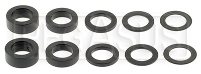 Large photo of Kart Rear Axle Hub Bushing Kit, Pegasus Part No. 9814-010-Size