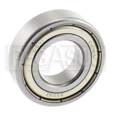 Large photo of Euro Kart Front Wheel Bearing, 17mm ID x 35mm OD, Pegasus Part No. 9814-021