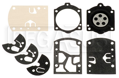 Large photo of Walbro WB-3A Gasket Set, Pegasus Part No. 9849-050