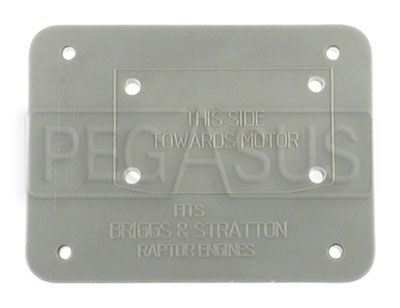 Large photo of Engine Insert for Kart Engine Storage Case, Pegasus Part No. 9892-Type