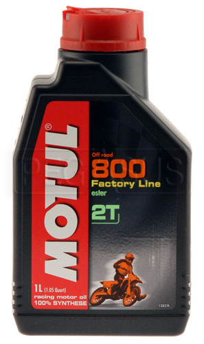 Large photo of Motul 800 2T 2-Cycle Oil, Pegasus Part No. 9906-001