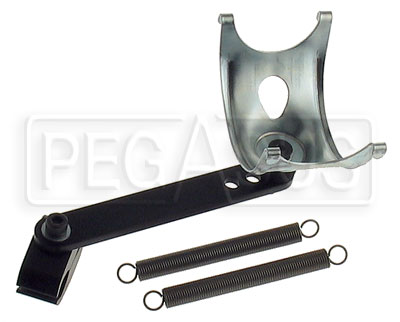 Large photo of Karting Exhaust Pipe Mount Assembly, Long Arm, Pegasus Part No. 9922-003-Size