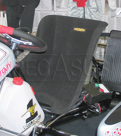 Large photo of Tillett Full Pad Karting Seat, Pegasus Part No. 9936-001-Size