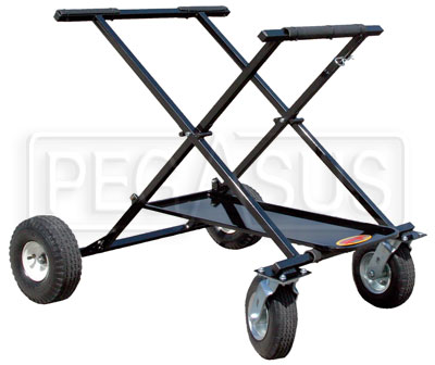 Large photo of Kartlift Big Foot Rolling Kart Stand, Shorty, Pegasus Part No. 9983-223