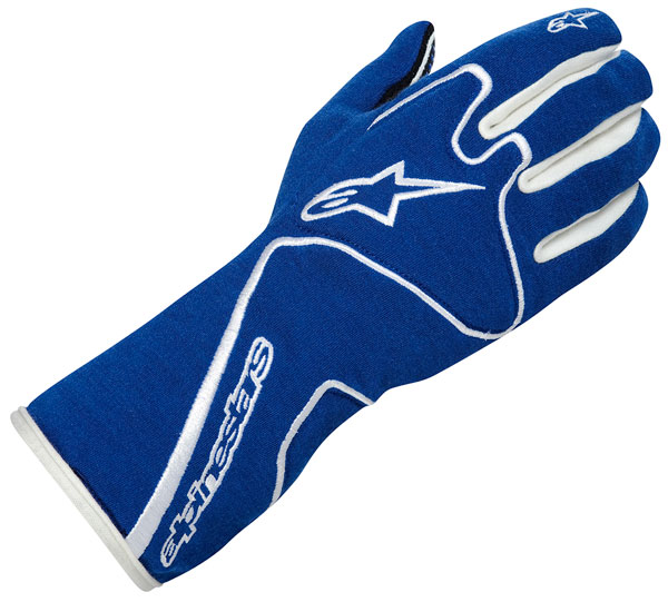 Large photo of Alpinestars Tech 1 Race Glove, SFI, FIA 8856-2000, Pegasus Part No. ALP1-303-Size-Color