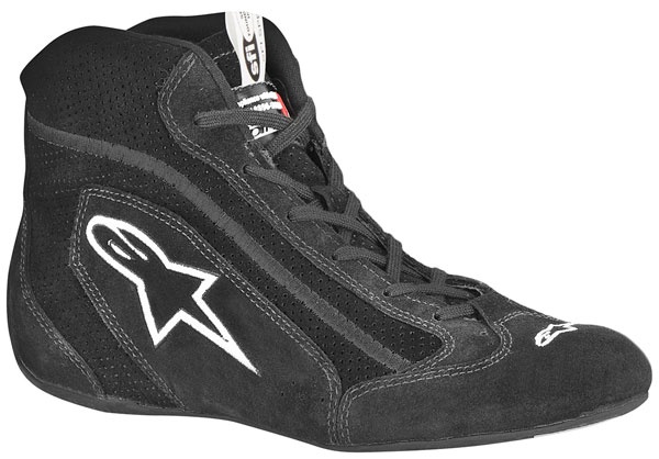 Large photo of Alpinestars SP Shoe, Solid Color, SFI, FIA 8856-2000, Pegasus Part No. ALP1-503-Size-Color