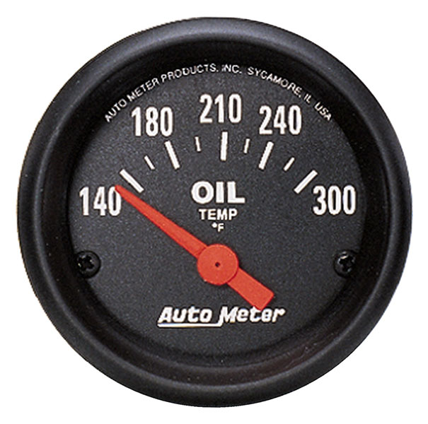 Large photo of Z Series 2 inch Oil Temp Gauge, 140-300 degree,  Electric, Pegasus Part No. AM2639