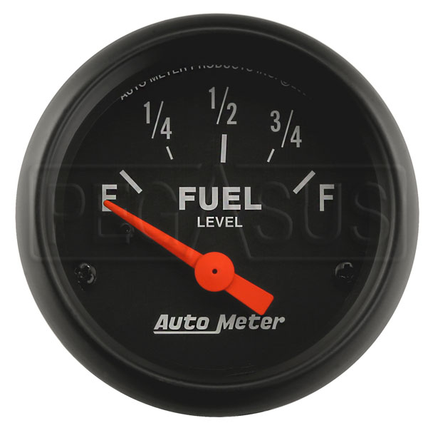 Large photo of Z Series 2 inch Fuel Level  Gauge, 0-90 Ohm, Pegasus Part No. AM2641