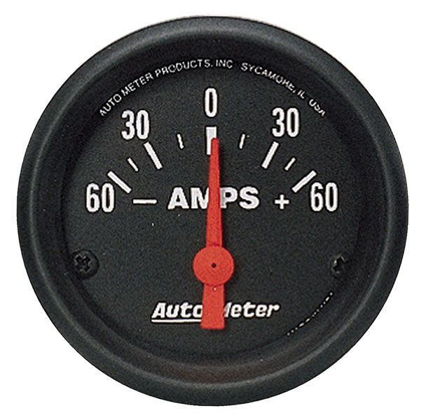 Large photo of Z Series 2 inch Ammeter, Electric, Pegasus Part No. AM2644