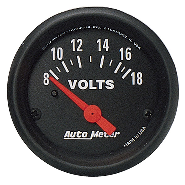 Large photo of Z Series 2 inch Voltmeter, Electric, Pegasus Part No. AM2645