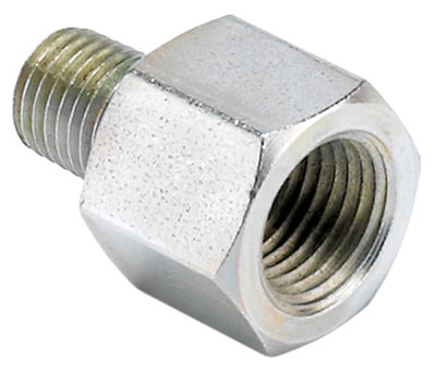 Large photo of 1/16 NPT Male to 1/8 NPT Female Adapter for Fuel Rail, Pegasus Part No. AM3280