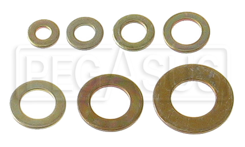 Large photo of AN960 Flat Washer (100 pack), Pegasus Part No. AN960-Size