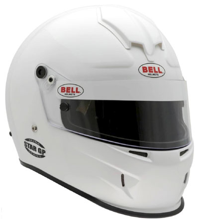 Large photo of Bell Star GP Helmet, Snell SAH2010 Approved, Pegasus Part No. BE001-S10-Size-Color