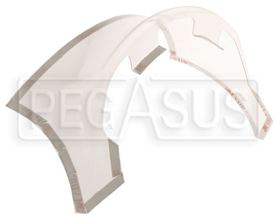 Large photo of Bell Helmet Rear Spoiler Kit, V.09, Pegasus Part No. BE205-Color