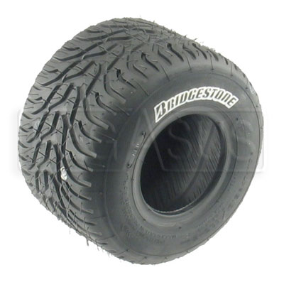 Large photo of Bridgestone Wet Racing Kart Tire (specify compound & size), Pegasus Part No. BSTW-Compound-Size