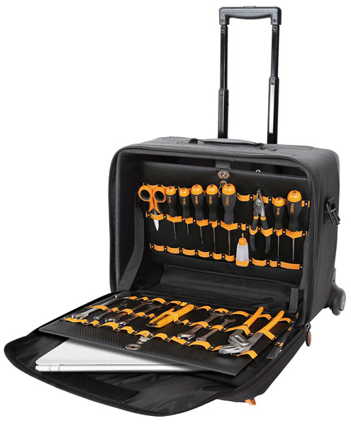 Large photo of Beta Tools C8 Nylon Rolling Tool Trolley with Dividers, Pegasus Part No. BT-021080000