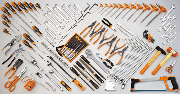 Large photo of Beta Tools 5904VG/3 132 Piece Auto Repair Tool Set, Metric, Pegasus Part No. BT-059040192