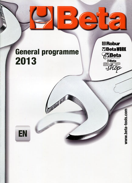 Large photo of Beta Tools 2013 Catalog, Pegasus Part No. BT-998064801