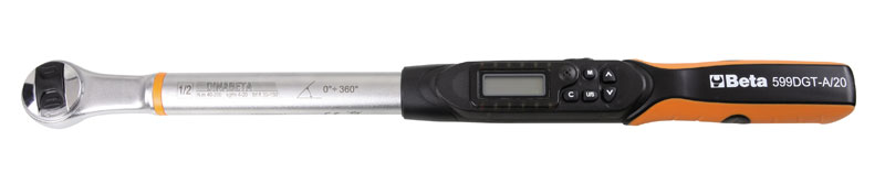 "Large photo of 599DGT-A/20 Digital Torque/Angle Wrench, 1/2"", 30-150 lb-ft, Pegasus Part No. BT-005990520"