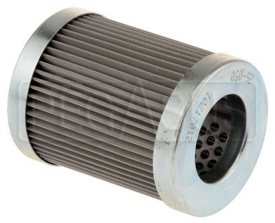 Large photo of Canton Short Oil Filter Element, 40 Micron Cleanable Screen, Pegasus Part No. CM 26-050