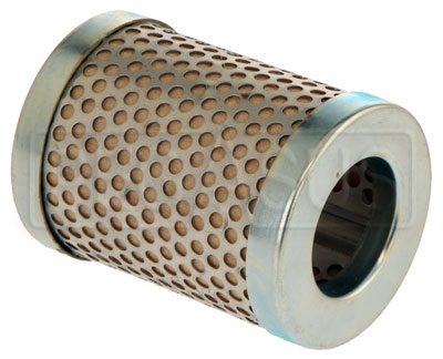 "Large photo of Canton 8 Micron Fuel Filter Element, Short (2 5/8""), Pegasus Part No. CM 26-602"