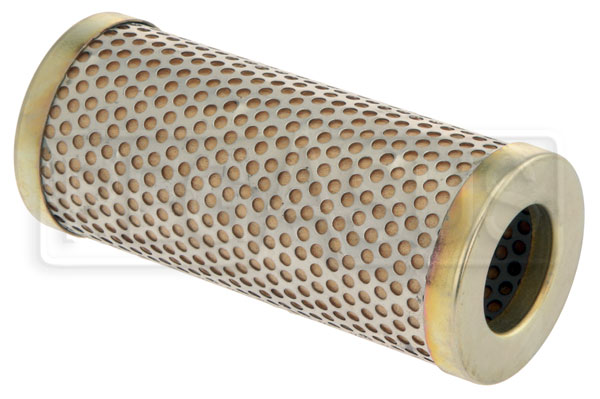 "Large photo of Canton 8 Micron Fuel Filter Element, Tall (4 5/8""), Pegasus Part No. CM 26-605"