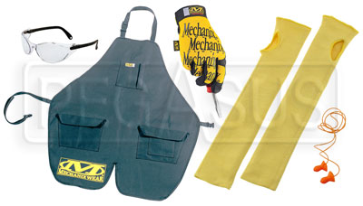 Large photo of Crew Person Gear Kit, specify size and color, Pegasus Part No. CREWKIT-Size-Color