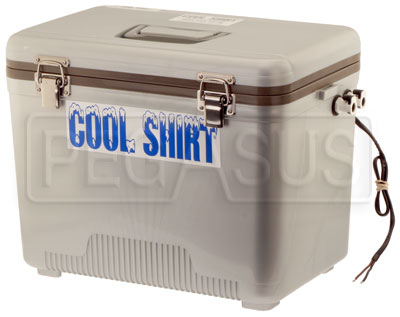Large photo of Cool Shirt Club-24 System, 19 Quart Cooler and Pump Only, Pegasus Part No. CS024