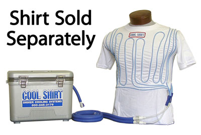 Large photo of Cool Shirt 12 Quart Club System, Cooler and Hoses Only, Pegasus Part No. CS2000
